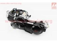 Двигатель скутерный в сборе 4Т-80куб (длинный вариатор, короткий вал) [LIPAI]
