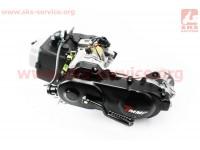Двигатель скутерный в сборе 4Т-80куб (короткий вариатор, короткий вал) [TMMP]