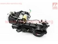 Двигатель скутерный в сборе 150куб (длинный вариатор, короткий вал) [TMMP]