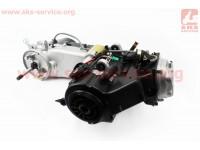 Двигатель скутерный в сборе 150куб (длинный вариатор, длинный вал) [TMMP]