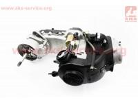 Двигатель скутерный в сборе 4Т-80куб (короткий вариатор, длинный вал) [TMMP]