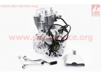 Двигатель мотоциклетный в сборе CG-200cc [Formula]