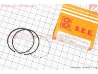 Кольца поршневые Honda DIO65 43мм STD желтая коробка (замки верхние) [SEE]