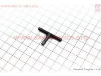 Тройник пластиковый под шланг топливный [Китай]