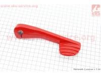 Рычаг кик-стартера TUNING GY6/DIO (красный) [Китай]