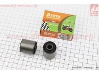 Сайлентблок двигателя длинный 30мм (30х30х10) к-кт 2шт [TATA-Premium]