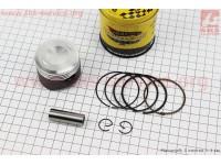 Поршень, кольца, палец к-кт 100cc 50мм STD (тефлоновое покрытие) (палец 13мм) [TMMP]