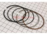 Кольца поршневые 125cc 52,4мм +0,25 [Китай]