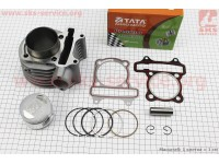 Цилиндр к-кт (цпг) 150cc-57,4мм (палец 15мм) [TATA-Premium]
