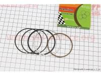 Кольца поршневые 150сс 57,4мм +0,25 [TATA-Premium]
