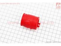 Патрубок карбюратора резиновый Yamaha STELS/2Т-рем.(красный) [SALO]