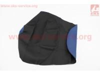 Чехол сиденья (эластичный, прочный материал) синий [Украина]