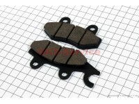 Тормозные колодки дисковые с ухом передние к-т(2шт.) [Китай]