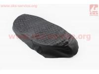 Чехол сиденья (эластичный, прочный материал) черный, ЛЮКС [Украина]