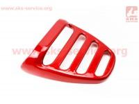 """пластик - багажник задний """"спойлер"""" модель 1, 2, БОРДОВЫЙ [Китай]"""