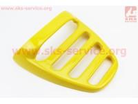 "пластик - багажник задний ""спойлер"" модель 1, 2, ЖЕЛТЫЙ [Китай]"