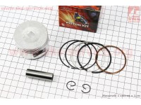 Поршень, палец, кольца к-кт 110сс 52,4мм STD (палец 13мм) [TNT]