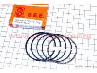 Кольца поршневые 110сс 52,4мм STD желтая коробка [SEE]