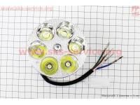 Фары круглой внутренняя часть 6-LED, 80мм, TUNING [Китай]