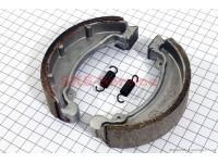 Тормозные колодки задние или передние к-кт, 121мм (спиц. колесо) [Китай]