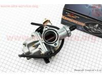 Карбюратор СВ/CG-200 (d=30), дросель ручной, с ускорительным насосом, оригинал [KEIHIN]