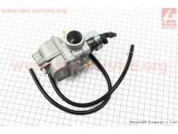 Карбюратор SPORT 2T/4T 150-180cc (d=24mm), дросель ручной, оригинальный [KEIHIN]
