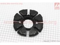 Демпферная резинка заднего колеса (к-кт 4шт) тип 2 [Китай]