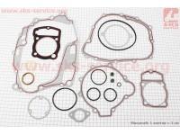 Прокладки двигателя к-кт CB-250cc 67мм [DDL]