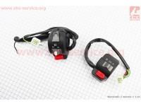 Yamaha BWS100 Блок кнопок на руле левый + правый к-кт  [Китай]