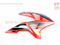Loncin- LX200GY-3 пластик - бака топливного правый, КРАСНЫЙ [Китай]