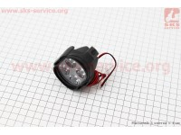 Фара дополнительная светодиодная влагозащитная - 4 LED с креплением, 65*50мм [Китай]