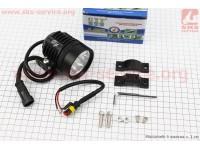 Фара дополнительная светодиодная влагозащитная - 6 LED с креплением, 60мм [CYT]