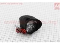 """Фара дополнительная светодиодная влагозащитная - 9 LED с креплением """"капля""""  66*68мм [Китай]"""