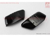Viper - V200-R2 пластик - декор передней панели сиденья к-кт 2шт, ЧЕРНЫЙ [Китай]