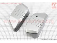 Viper - V200-R2 пластик - декор передней панели сиденья к-кт 2шт, СЕРЫЙ [Китай]