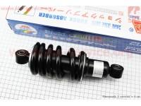 Амортизатор задний МОНО 215мм*d78мм (втулка 10мм / втулка 10мм) черный [Китай]
