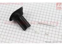 Мембрана карбюратора с направляющими (с ушками) 16мм + игла, CYK30-250cc [Китай]