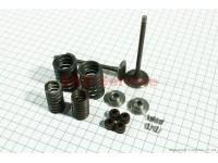 Клапана выпускной (h-91,5; d-25), впускной (h-92; d-30) полный к-кт 2шт 150сс [Китай]