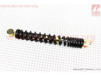 Амортизатор задний GY6/Honda - 315мм*d44мм (втулка 10мм / вилка 8мм), черный [FENGRI]