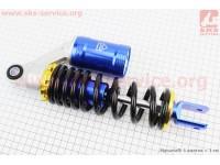 Амортизатор задний GY6/Yamaha - 270мм*d60мм (втулка 12мм / вилка 8мм) газовый, черный [JWBP]