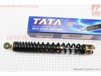 Амортизатор задний GY6/Honda - 310мм*d41мм (втулка 10мм / вилка 8мм), черный [TATA]