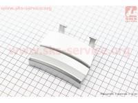 Honda DIO AF-34/35 пластик - задний верхний (где крышка бака), СЕРЫЙ [Китай]