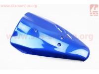 """Honda DIO AF-34/35 пластик - передний верхний """"клюв"""", СИНИЙ"""