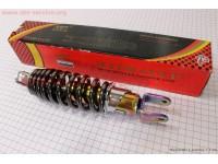 Амортизатор задний GY6/Yamaha - 230мм*d55мм (втулка 10мм / вилка 8мм) регулир., плазма [NAIDITE]
