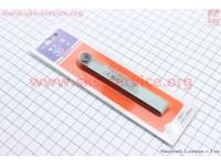 Щупы для регулировки зазоров клапанов  0,02-1,00mm, к-кт [Китай]
