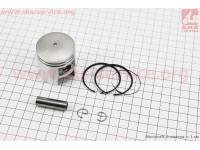 Поршень, кольца, палец к-кт Suzuki AD50/LETS 41мм +0,50 (палец 10мм) [Китай]