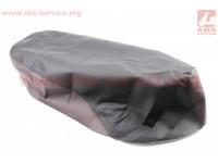 Чехол сидения Honda LEAD AF48 - 100сс (эластичный, прочный материал) черный/коричневый [Украина]