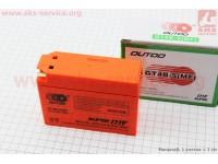 "Аккумулятор ""таблетка-Yamaha/suzuki"" GT4B-5(MF) (L113*W39*H87mm), 2020 [OUTDO]"