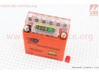 Аккумулятор 5Аh 12N5AL-BS гелевый, Active (L120*W60*H130mm), 2020, с ИНДИКАТОРОМ [OUTDO]