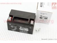 Аккумулятор 7Аh YTX7A-BS (гелевый) 150/85/95мм, 2018 [YUASA]
